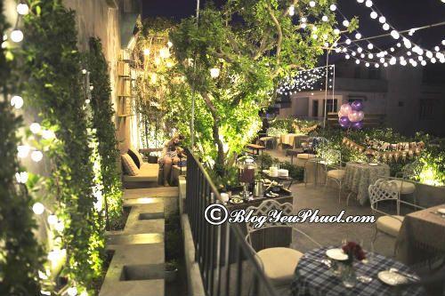 Quán cafe có không gian lãng mạn ở Sài Gòn: Địa chỉ uống cà phê ngon, không gian đẹp ở Sài Gòn
