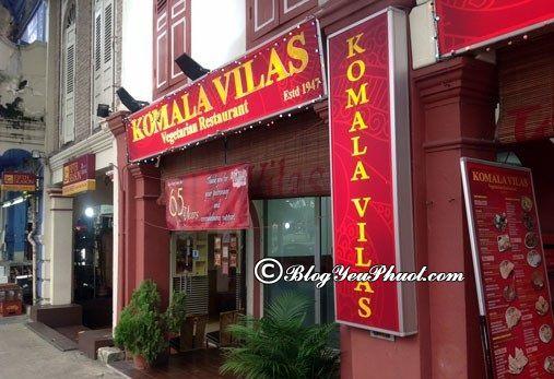 Địa chỉ ăn chay ngon ở Singapore: Địa chỉ những nhà hàng ăn chay ngon, nổi tiếng ở Singapore