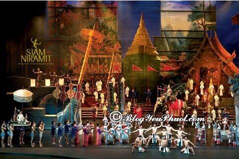 Nên xem show diễn nào ở Bangkok? Giá vé xem các show trình diễn độc đáo, nổi tiếng ở Bangkok
