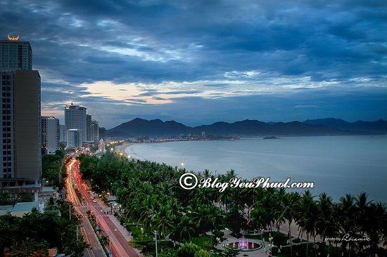 Thời điểm lí tưởng đi du lịch Nha Trang