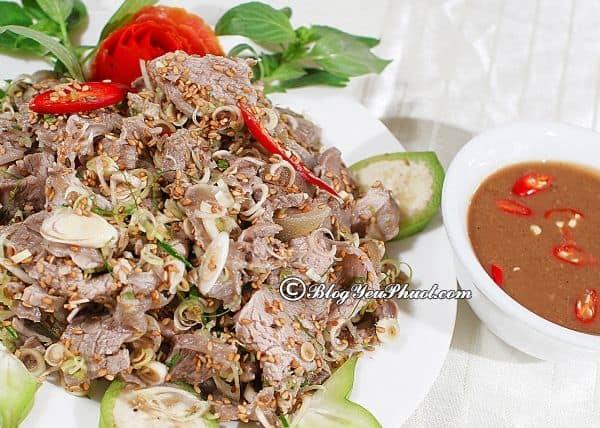 Các món ăn ngon đặc sản từ Bắc vào Nam nổi tiếng nhất