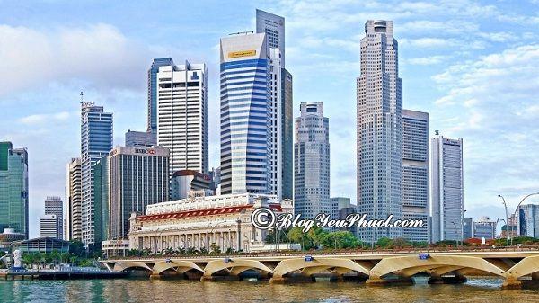 Cách di chuyển bằng MRT tại Singapore: Du lịch Singapore bằng MRT như thế nào?