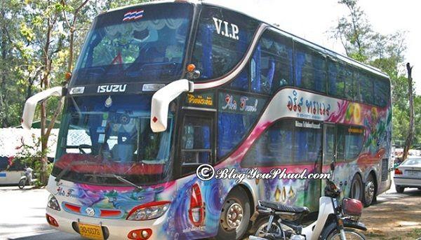 Xe bus là phương tiện bình dân, giá rẻ đi từ Bangkok đến Krabi: Hướng dẫn cách đi lại khi du lịch Krabi