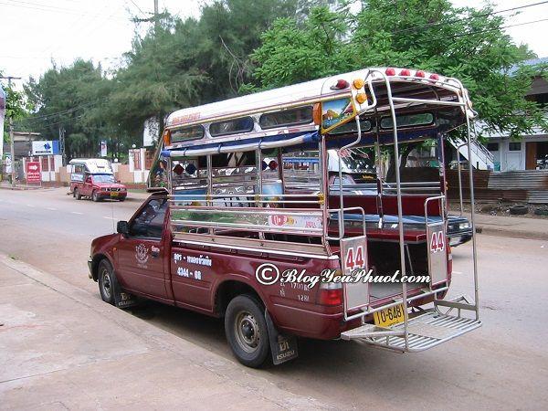 Đi du lịch bụi Krabi bằng phương tiện gì? Các loại xe đi du lịch Krabi nhanh, giá rẻ