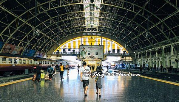Cách di chuyển từ Bangkok đến Chiang Mai