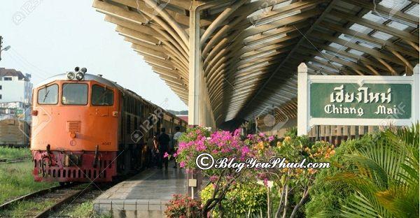 Di chuyển từ Bangkok đến Chiang Mai bằng tàu lửa: Kinh nghiệm đi từ Bangkok tới Chiang Mai