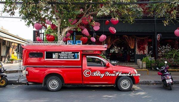 Đi tới Chiang Mai từ Bangkok bằng phương tiện gì? Hướng dẫn đi du lịch Chiang Mai từ Bangkok