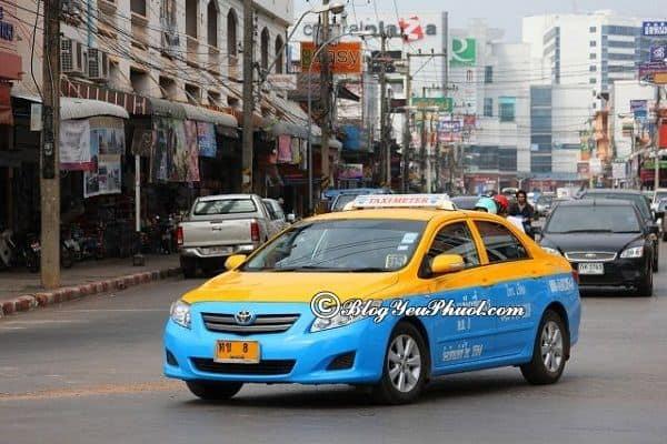 Cách di chuyển từ Bangkok đến Pattaya