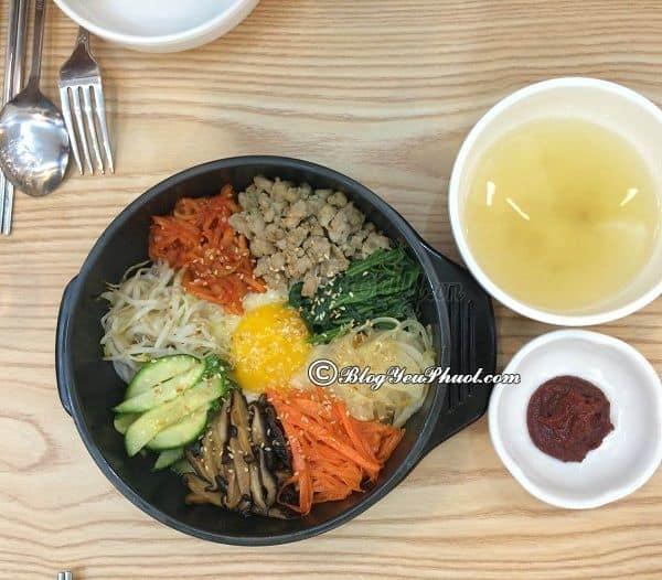 Món ăn nổi tiếng nhất xứ Hàn tại Quận 1, Sài Gòn: Quận 1, Sài Gòn có quán ăn Hàn Quốc nào ngon?