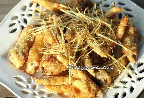 Địa chỉ ăn chân gà rang muối ở Bắc Giang: Quán ăn ngon, nổi tiếng ở Bắc Giang