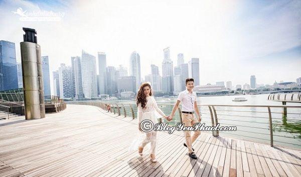 Địa điểm chụp ảnh cưới đẹp nhất ở singapore