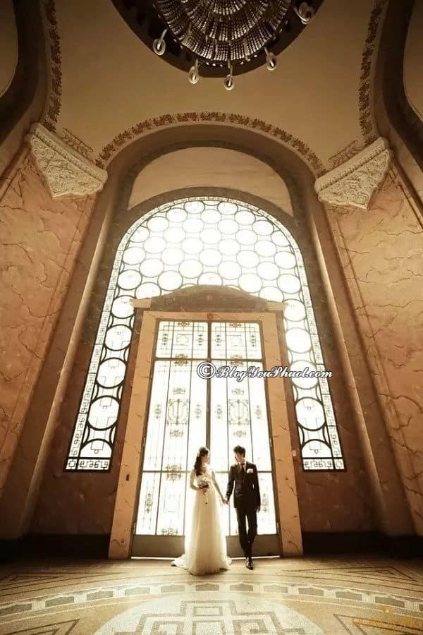 Trường ĐH Tổng Hợp - địa điểm chụp ảnh cưới lãng mạn ở Hà Nội: Những địa điểm chụp hình cưới nổi tiếng, đẹp nhất Hà Nội