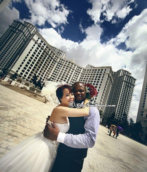 Khu đô thị Royal City - địa điểm chụp ảnh cưới ở Hà Nội: Nên chụp ảnh cưới ở đâu Hà Nội?
