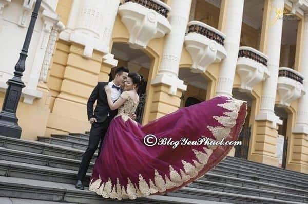 Nhà Hát Lớn Hà Nội - địa điểm chụp ảnh cưới nổi tiếngở Hà Nội: Những địa điểm chụp hình cưới nổi tiếng, độc đáo nhất Hà Nội