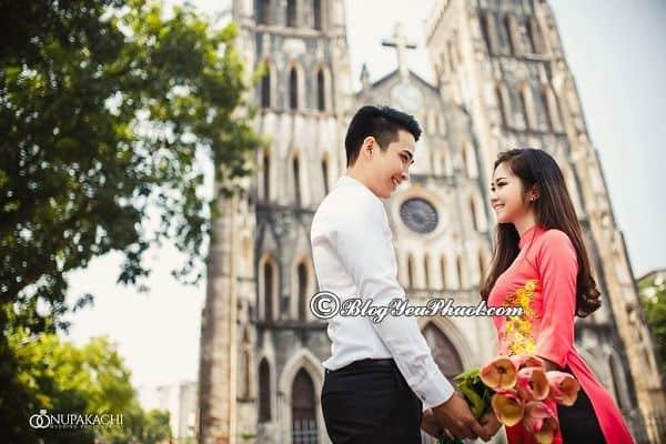 Nhà thờ Lớn - Địa điểm chụp ảnh cưới đẹp lung linh ở Hà Nội: Hà Nội có địa điểm chụp ảnh cưới nào đẹp, độc đáo nhất?