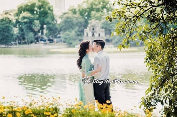Địa điểm chụp ảnh cưới lãng mạn tại Hà Nội: Địa điểm chụp ảnh cưới ấn tượng nhất ở Hà Nội