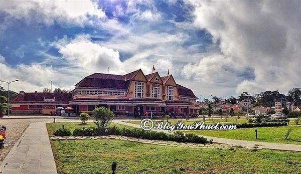 Ga Đà Lạt - Điểm chụp ảnh lãng mạn ở Đà Lạt: Nên đi đâu chụp hình, check in khi đi phượt Đà Lạt?