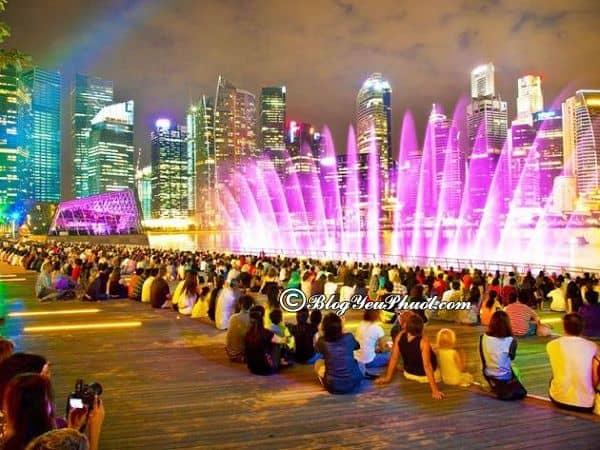 Singapore về đêm có gì hay? Những địa điểm tham quan, vui chơi nổi tiếng về đêm ở Singapore