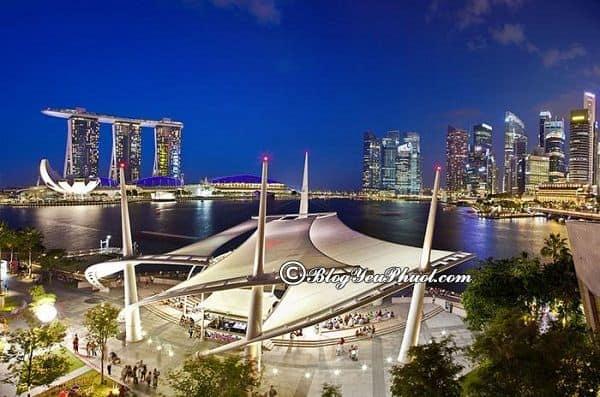 Du lịch Singapore cùng trẻ nhỏ nên đi đâu