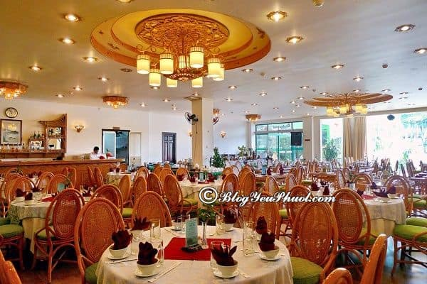 Green Hotel Nha Trang đánh giá khách quan: Nhận xét về đồ ăn, nhà hàng của khách sạn Green Hotel Nha Trang