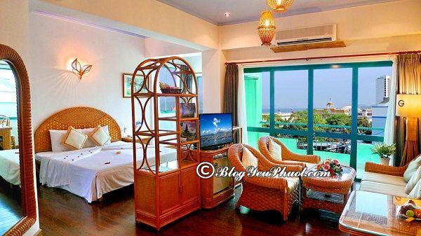 Dịch vụ củaGreen Hotel Nha Trang có tốt không? Đánh giá chất lượng, tiện nghi, dịch vụ của khách sạn Green Hotel Nha Trang