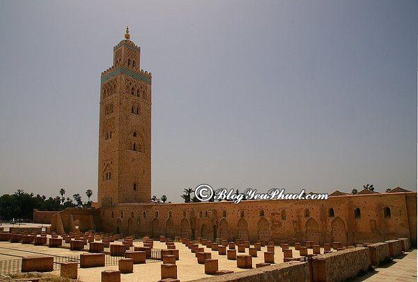 Đi đâu khi du lịch Marrakech? Du lịch Marrakech nên đi đâu tham quan, vui chơi?
