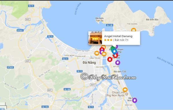 Khách sạn 3 sao Angel Đà Nẵngở đâu, có gần biển không? Nhận xét, review chất lượng, tiện nghi, vị trí của khách sạn Angel Đà Nẵng