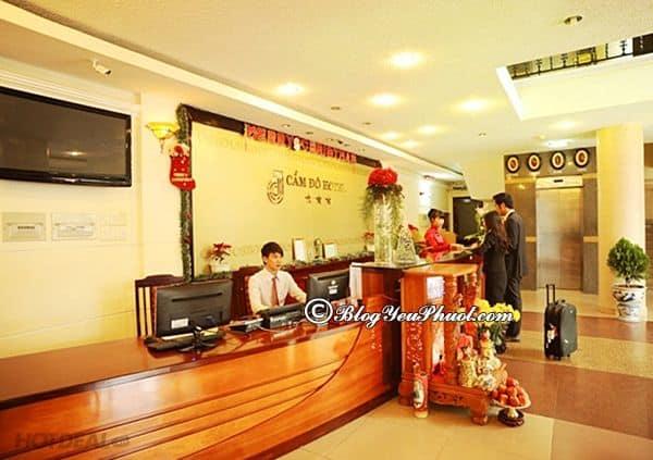 Review chi tiết khách sạn 3 sao Cẩm Đô Đà Lạt về vị trí, chất lượng, tiện nghi: Có nên đặt phòng khách sạn Cẩm Đô Đà Lạt hay không?