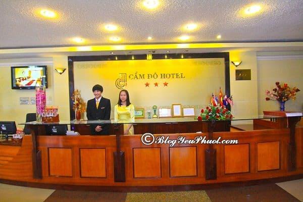 Chất lượng phục vụ của khách sạn 3 sao Cẩm Đô Đà Lạt? Đánh giá về vị trí, tiện nghi, phòng ốc của khách sạn Cẩm Đô Đà Lạt