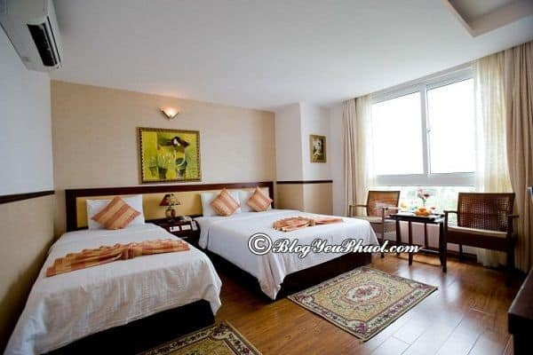 Sự tiện nghi nổi bật của khách sạn King Town Nha Trang: Review chất lượng phòng ốc, nội thất và vị trí của khách sạn King Town Nha Trang