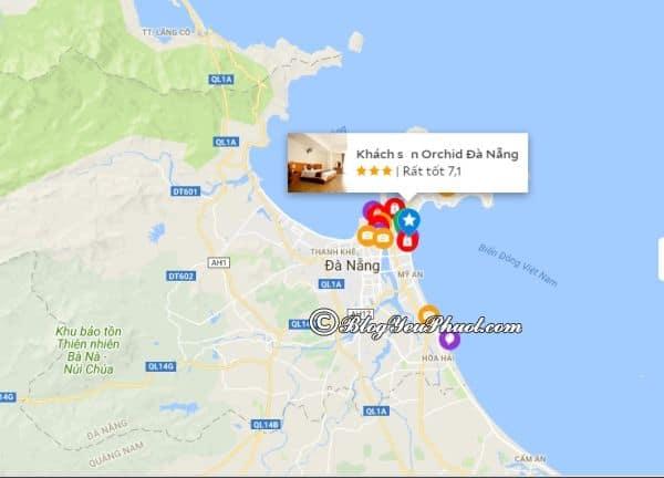Khách sạn 3 sao Orchid Đà Nẵng nằm ở đâu, có gần biển không? Đánh giá vị trí của khách sạn Orchid Đà Nẵng