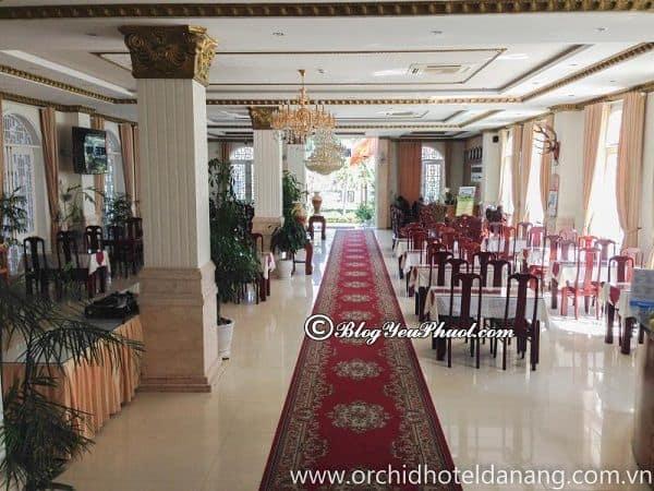 Tiện nghi nổi bật khách sạn Orchid Đà Nẵng? Review đồ ăn, nhà hàng của khách sạn Orchid Đà Nẵng