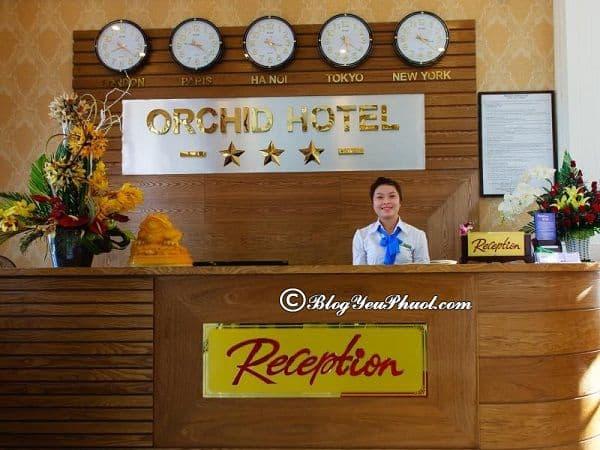 Đánh giá chất lượng, tiện nghi, phòng ốc của khách sạn Orchid Đà Nẵng