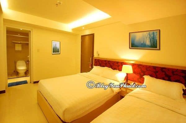 Review chất lượng phòng ốc, tiện nghi, dịch vụ của khách sạn Ruby Nha Trang