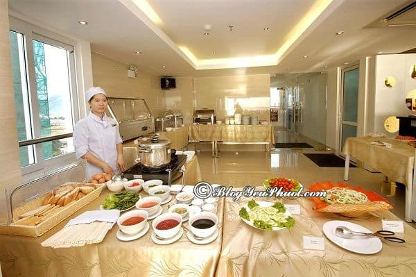 Có nên chọn khách sạn Ruby Nha Trang khi du lịch Nha Trang? Review nhà hàng, đồ ăn của khách sạn Ruby Nha Trang