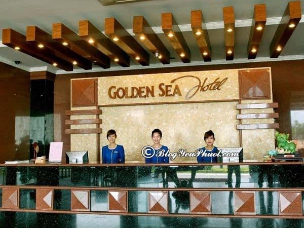 Khách sạn 3 sao Golden sea Đà Nẵng ở đâu, có phục vụ tốt không? Đánh giá chất lượng phục vụ của khách sạn Golden Sea Đà Nẵng