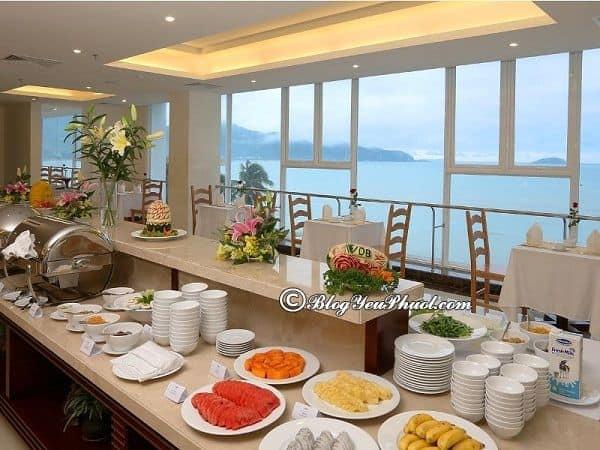 Ẩm thực của khách sạn 4 sao VDB Nha Trang: Review nhà hàng, đồ ăn của khách sạn VDB Nha Trang