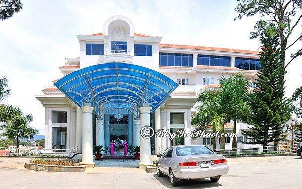 Review chi tiết khách sạn 4 sao Vietsovpetro Đà Lạt: Đánh giá vị trí, chất lượng, tiện nghi của khách sạn Review phòng ốc, vị trí của khách sạn Vietsovpetro Đà Lạt