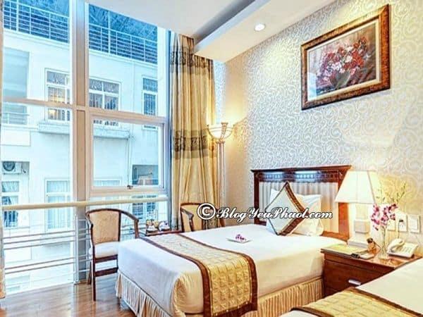 Đánh giákhách sạn Sunriver Đà Nẵng về phòng ốc, tiện nghi, chất lượng