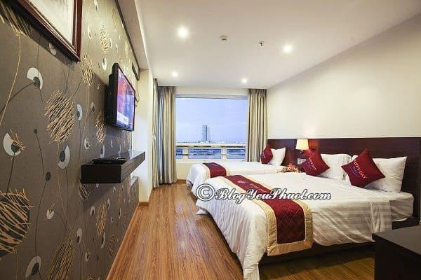 Địa chỉ những khách sạn đẹp, tiện nghi, sạch sẽ ở Đà Nẵng: Du lịch Đà Nẵng nên ở khách sạn nào?
