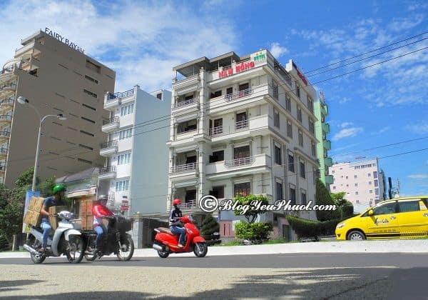 Khách sạn Vũng Tàu trên đường Thùy Vân