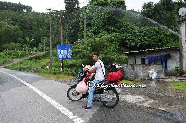 Đường đi từ Huế tới Hải Phòng bằng xe máy: Phương tiện đi phượt Hải Phòng từ Huế