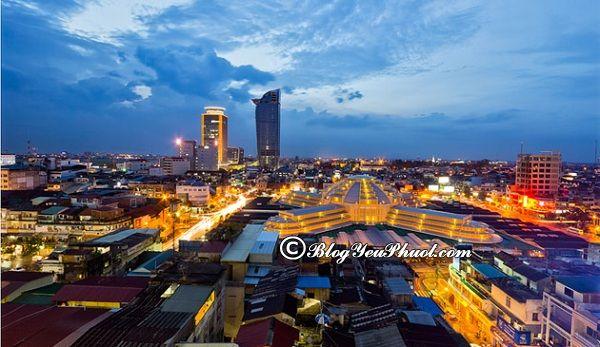 Hướng dẫn đi du lịch Phnompenh từ Sài Gòn: Kinh nghiệm di chuyển từ Sài Gòn tới Phnompenh du lịch