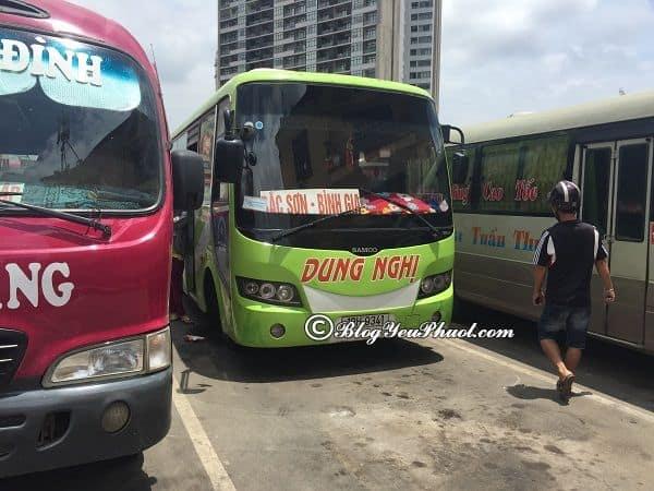 Phương tiện di chuyển tới Lạng Sơn: Du lịch Lạng Sơn từ Hà Nội bằng phương tiện gì?