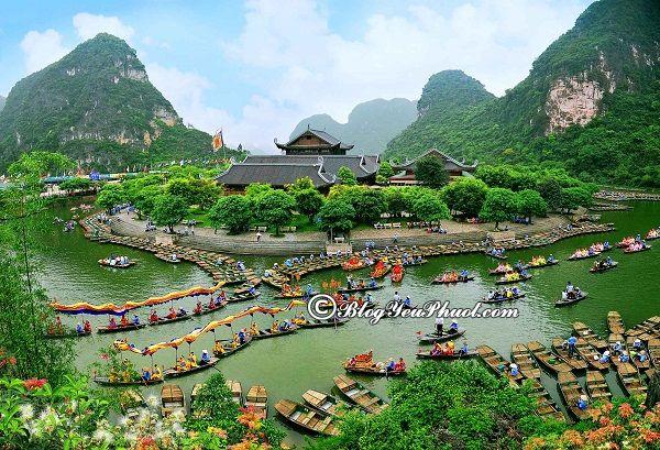 Du lịch Tràng An từ Hà Nội nên đi đường nào? Hướng dẫn đường đi phượt Tràng An từ Hà Nội