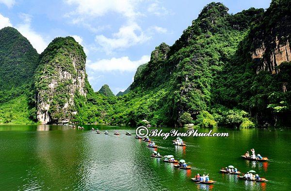 Hướng dẫn đường đi phượt Tràng An từ Hà Nội: Cách di chuyển từ Hà Nội tới Tràng An du lịch