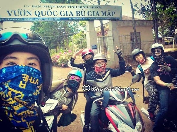 Hướng dẫn đường đi phượt Bình Phước từ Sài Gòn: Kinh nghiệm di chuyển từ Sài Gòn tới Bình Phước du lịch