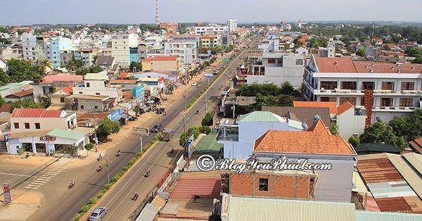 Hướng dẫn cách di chuyển từ Sài Gòn tới Bình Phước du lịch: Đường đi từ Sài Gòn tới Bình Phước