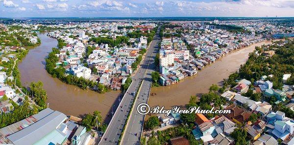 Đường đi từ Sài Gòn tới Mỹ Tho: Phượt Mỹ Tho từ Sài Gòn đi như thế nào?