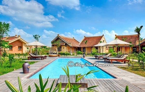 Khu nghỉ dưỡng giá rẻ gần Hà Nội